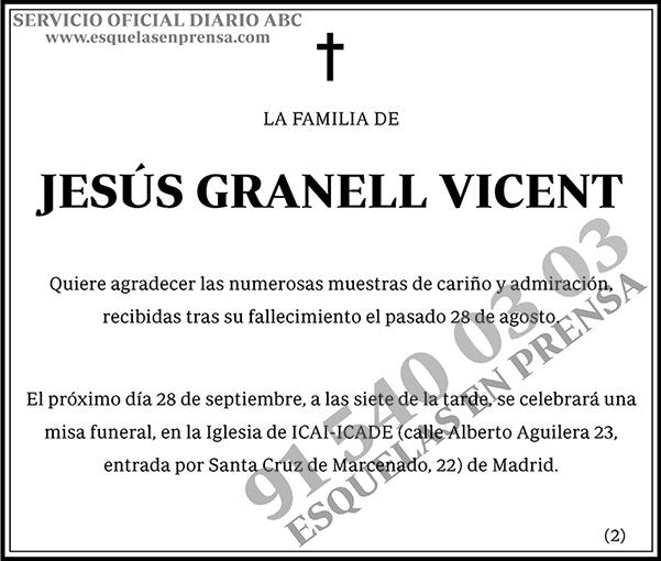 Jesús Granell Vicente